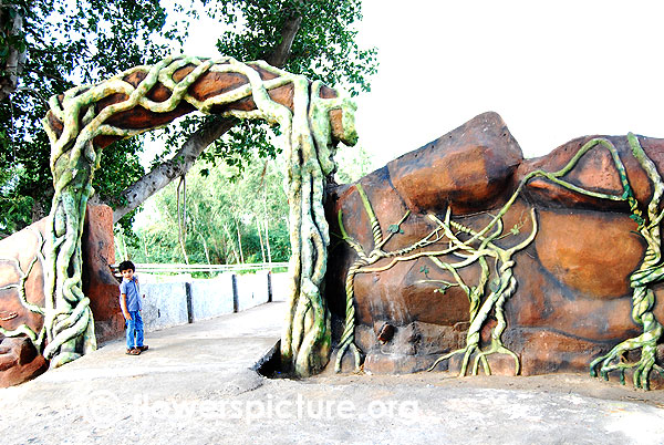 Trichy butterfly park entrance